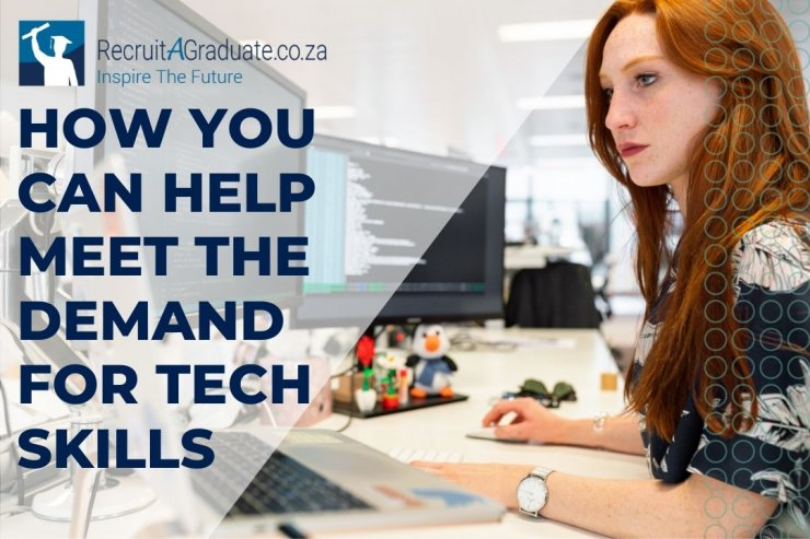 How you can help meet the demand for tech skills