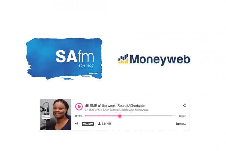 SAfm Radio Interview - RecruitAGraduate aims to tackle 55% youth unemployment